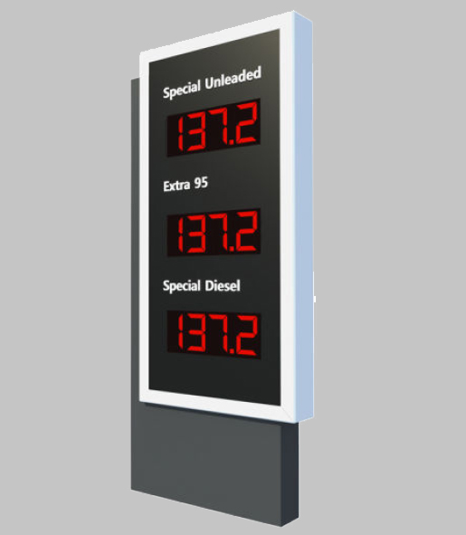 Electronic Gold Rate Display, Digital Clock Display, Foreign